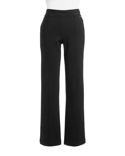 Calvin Klein - Black Powerstretch Straight-leg Pants - Lyst