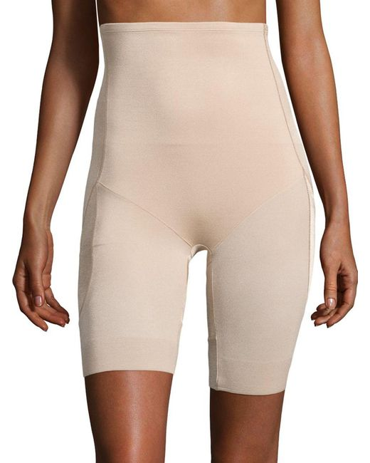 Miraclesuit | Natural Derriere Lift Thigh Control High Waist Long Leg Slimmer | Lyst