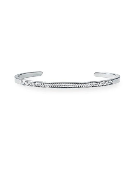 Michael Kors - Metallic Sterling Silver & Crystal Nesting Bracelet Insert - Lyst