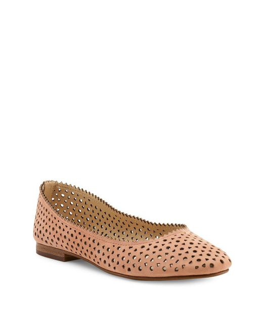 Botkier - Brown Mandy Leather Ballet Flats - Lyst
