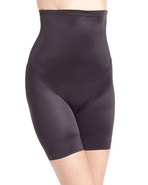 Tc Fine Intimates - Black Extra-firm Control High-waist Thigh Slimmer - Lyst