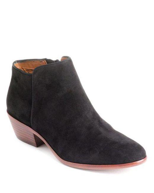 Sam Edelman - Black Petty (putty Suede) Women's Shoes - Lyst