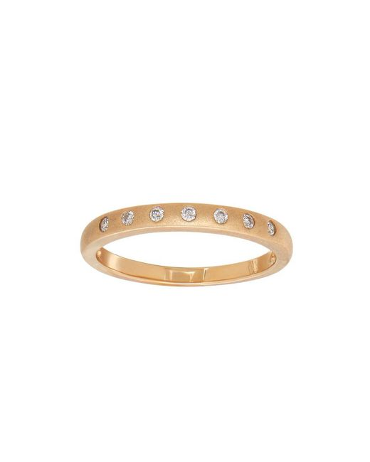 Lord & Taylor - Metallic Andin 14k Gold Diamond Pave Ring - Lyst