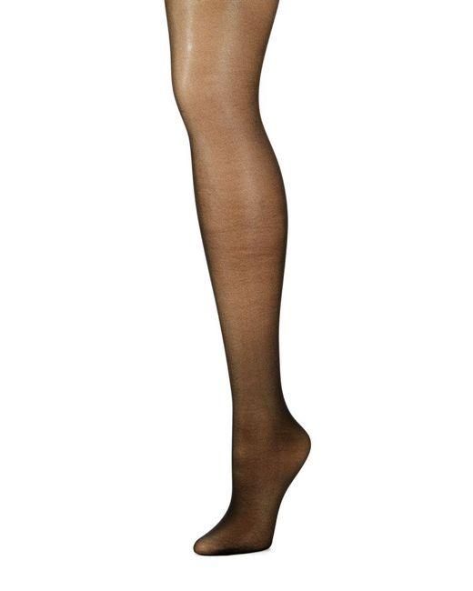 Calvin Klein - Black Active Sheer Panty Hose - Lyst
