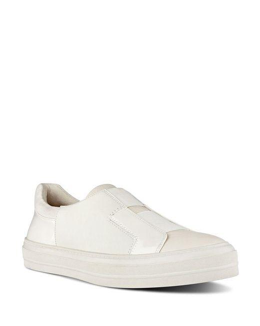Nine West - White Obasi Colorblock Slip-on Sneakers - Lyst