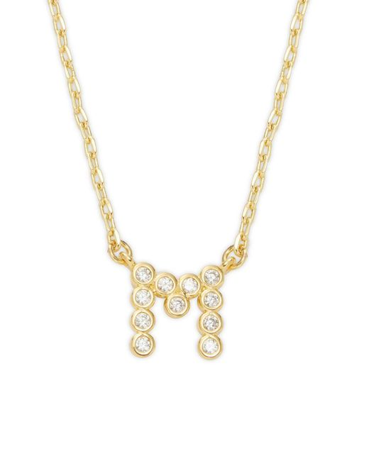 Kate Spade - Metallic One In A Million Crystal A Pendant Necklace - Lyst