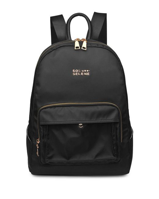 Sol And Selene - Black Around Town Backpack - Lyst