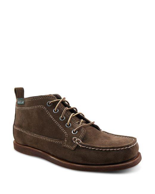 Eastland - Blue Seneca Camp Moc Chukka Boot for Men - Lyst