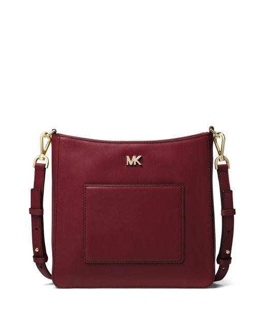 MICHAEL Michael Kors - Purple Gloria Pocket Swing Crossbody Bag - Lyst