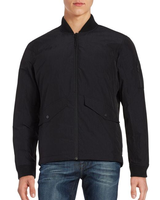 Hawke & Co. - Black Work Down Bomber Jacket for Men - Lyst
