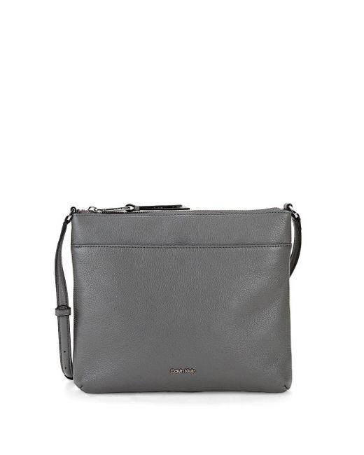 Calvin Klein - Multicolor Leather Crossbody Bag - Lyst