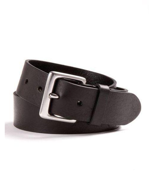 Lauren by Ralph Lauren - Black Leather Dress Belt for Men - Lyst