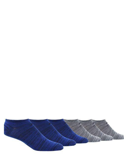 Adidas Blue Six-pack Ankle Length Socks for men