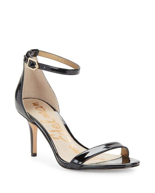 Sam Edelman - Natural Patti Leather Sandals - Lyst