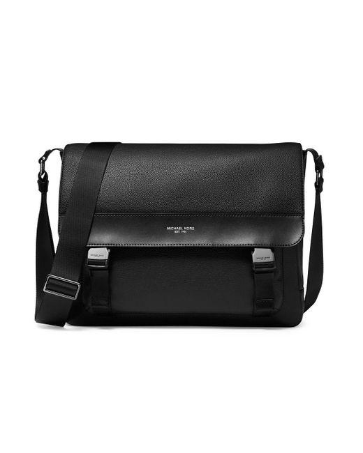 Michael Kors Black Kent Messenger Bag for men