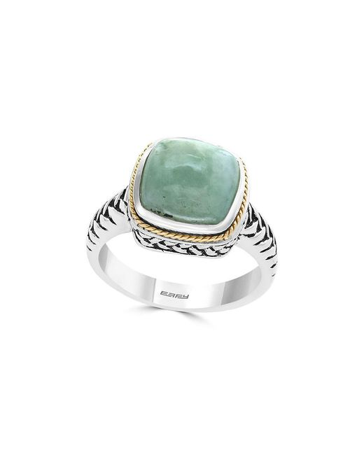 Effy - Metallic Gemstone And Sterling Silver Ring - Lyst