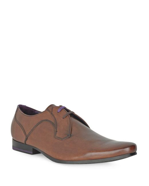 Ted Baker - Brown Martt 2 Leather Oxfords for Men - Lyst