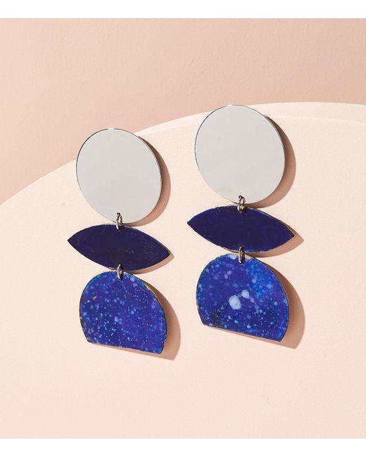 Lou & Grey | Metallic We Dream In Colour Orchid Splatter Earrings | Lyst