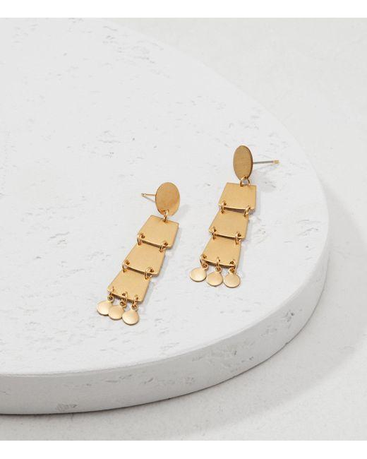 Lou & Grey   Metallic Sandy Hyun Geo Dangle Earrings   Lyst