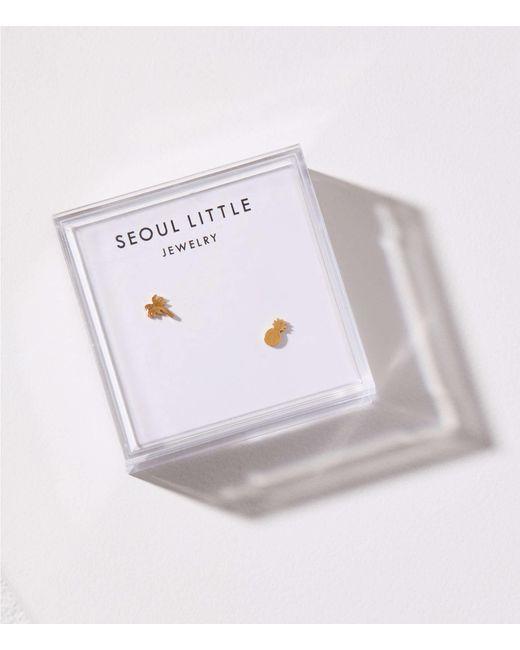 Lou & Grey - Metallic Seoul Little Tropical Stud Earrings - Lyst