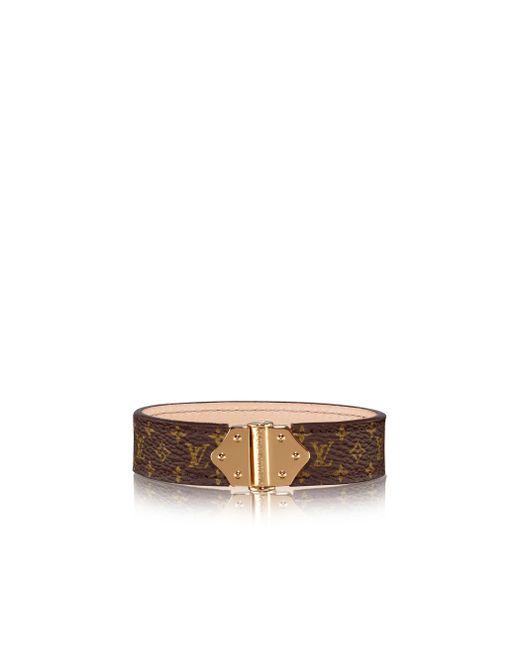 Louis Vuitton | Brown Nano Monogram Bracelet | Lyst