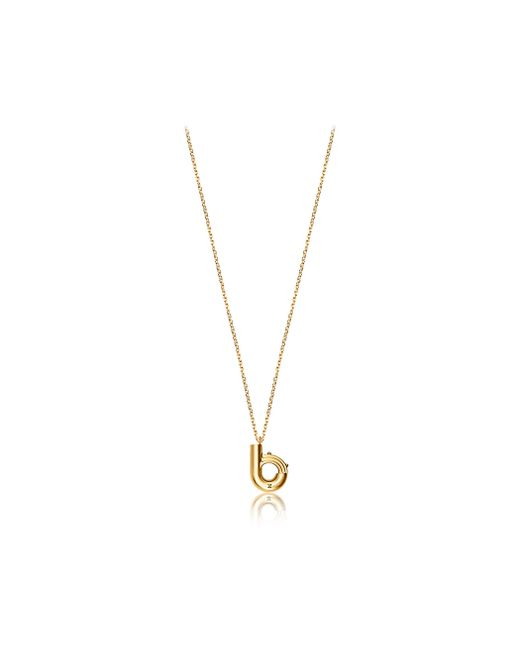 Louis Vuitton | Metallic Lv & Me Necklace, Letter B | Lyst