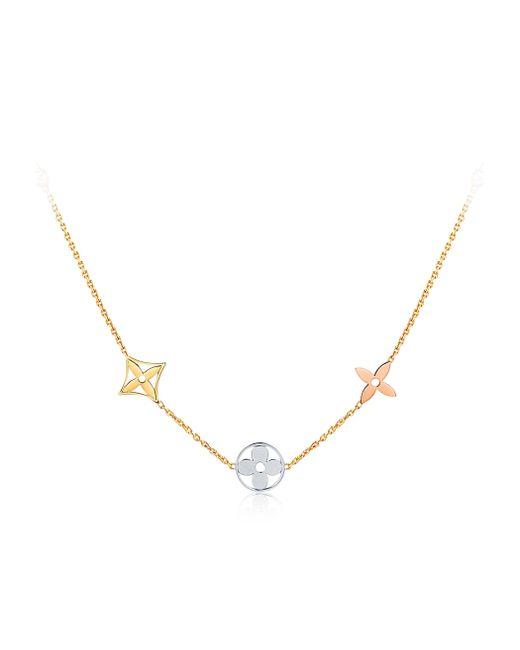 Louis Vuitton | White Idylle Blossom Sautoir, 3 Golds And Diamonds | Lyst