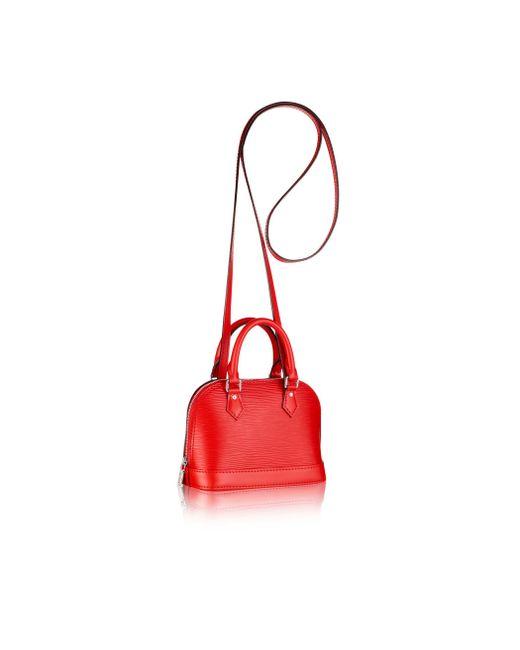 Louis Vuitton | Red Nano Alma | Lyst