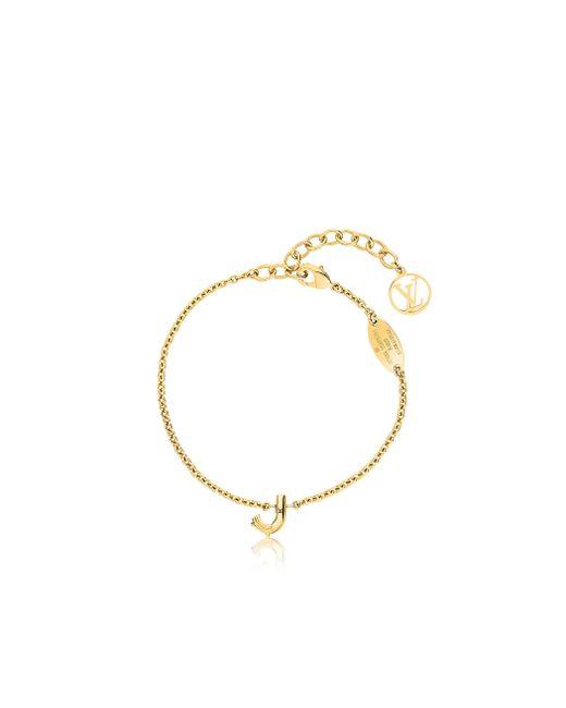 Louis Vuitton | Metallic Lv & Me Bracelet, Letter J | Lyst