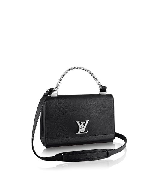 Louis Vuitton | Black Lockme Ii Bb | Lyst