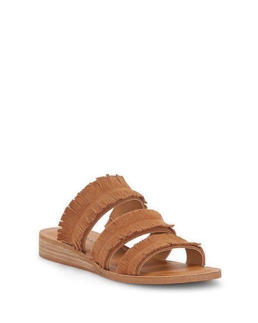Lucky Brand - Brown Hegen Slide Sandal - Lyst