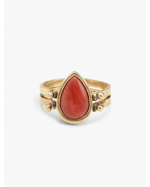 Lucky Brand | Metallic Reversible Ring | Lyst