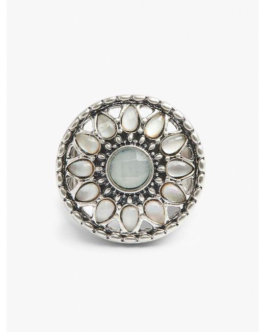 Lucky Brand | Metallic Seafoam Ring | Lyst