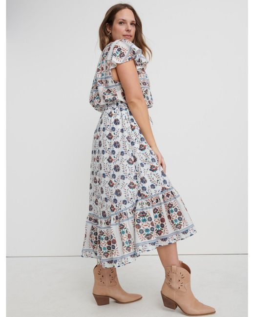 4f9aef6ae07 ... Lucky Brand - Multicolor Printed Felice Dress - Lyst ...