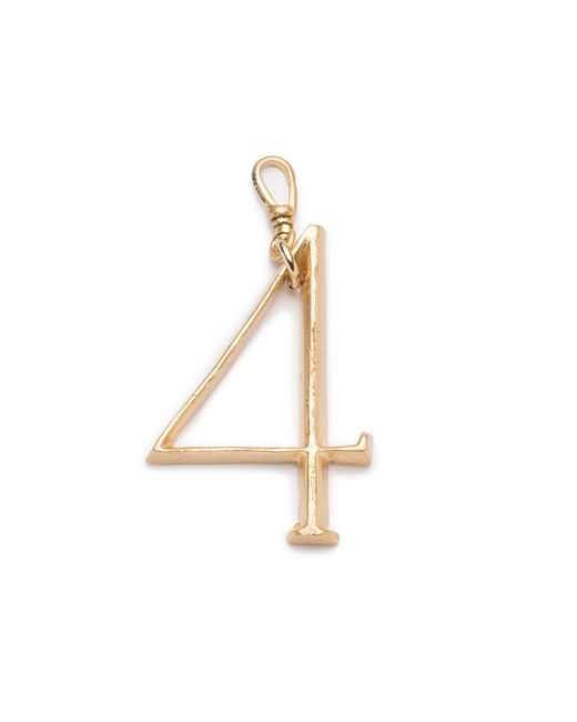 Lulu Frost - Multicolor Plaza Number Charm #4 Large - Lyst