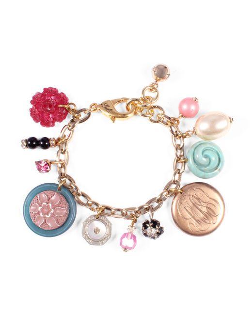 Lulu Frost - Metallic Vintage Charm Bracelet 13 - Lyst