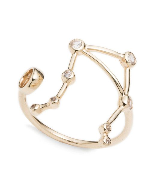 Lulu Frost | Multicolor Zodiacs Libra + Air Ring | Lyst