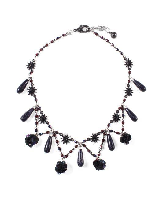 Lulu Frost - Multicolor Rose Necklace - Lyst