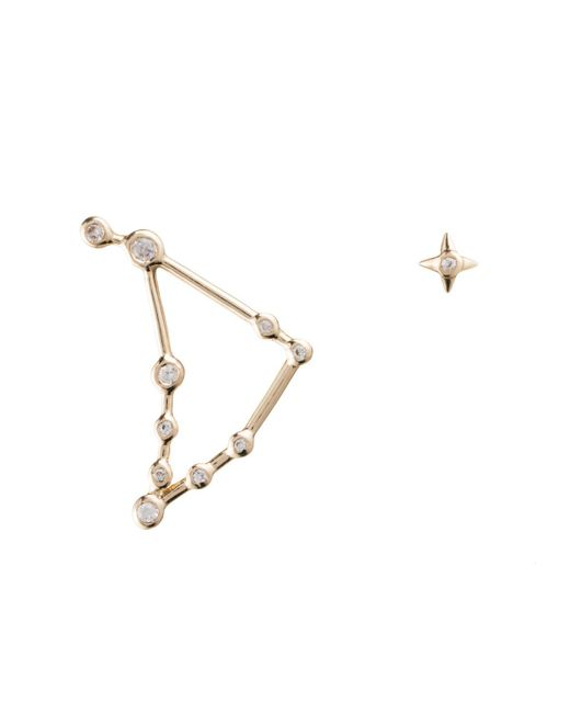Lulu Frost | Multicolor Zodiacs Capricorn + Earth Stud Set | Lyst