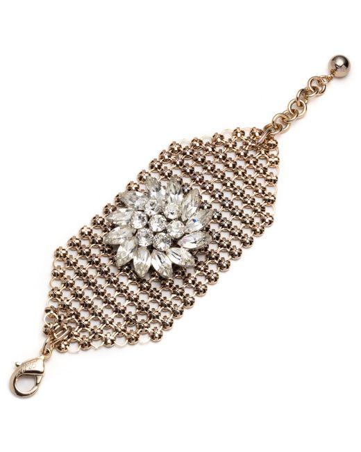 Lulu Frost   Metallic Mesh Bracelet - Gold   Lyst
