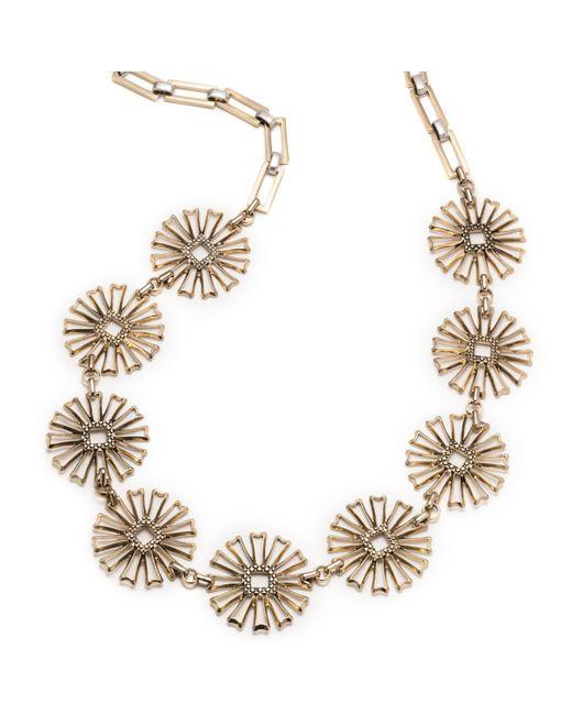 Lulu Frost   Metallic Daisy Long Necklace   Lyst
