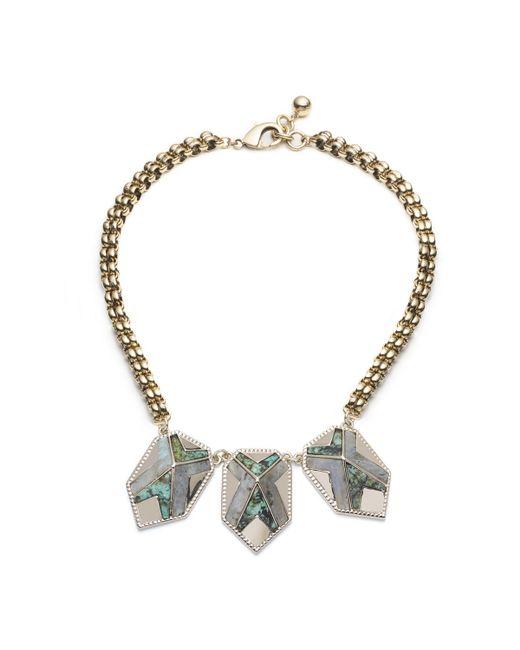 Lulu Frost   Metallic Trocadero Necklace   Lyst