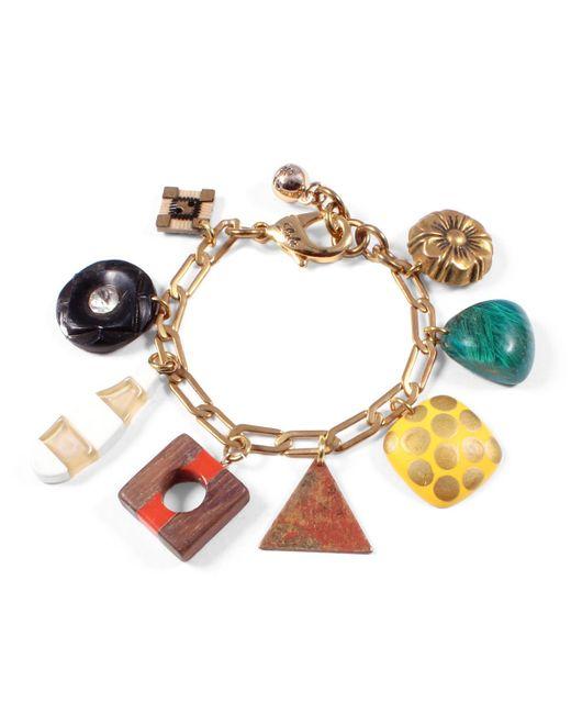 Lulu Frost | Metallic *vintage* Charm Bracelet 1 | Lyst