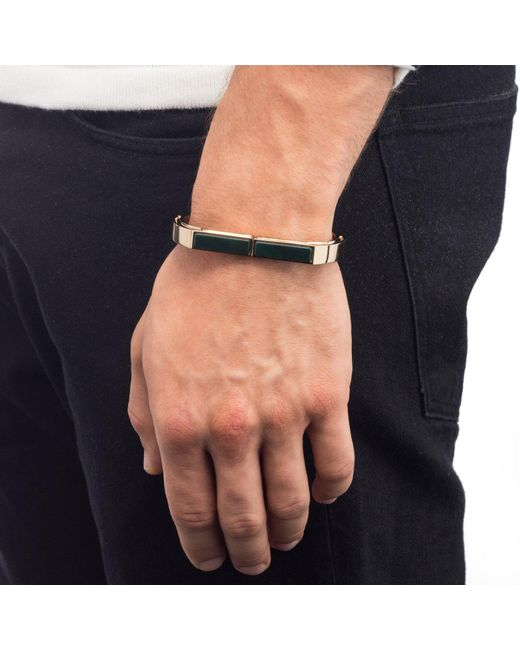 Lulu Frost - Multicolor George Frost 14k Gold Plated Portal Cuff- Justice for Men - Lyst