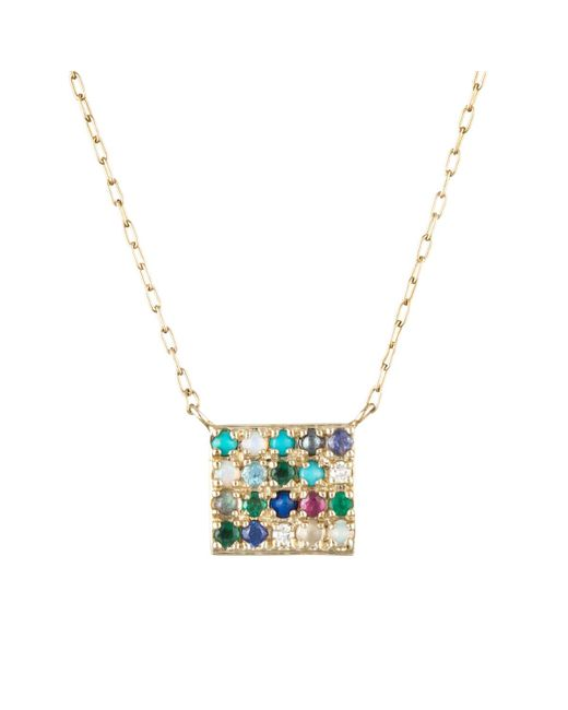 Lulu Frost - Multicolor Code 10k 'to Thine Own Self Be True' Necklace - Lyst