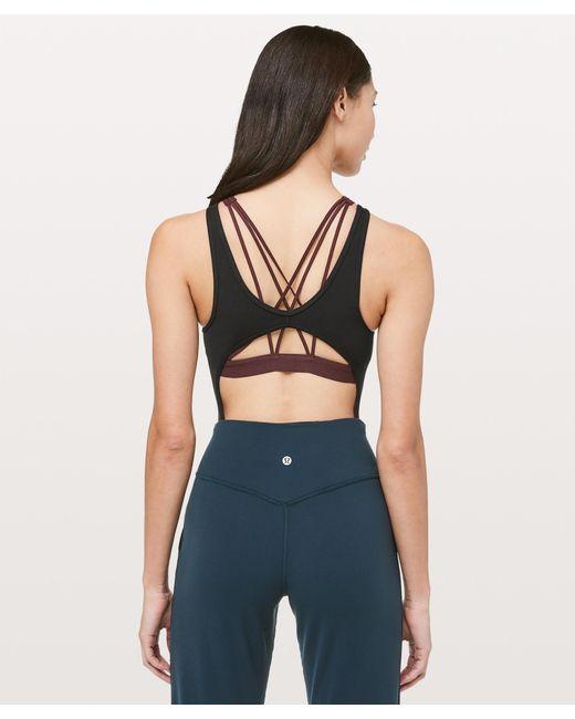 238f5b3b87 Lyst - lululemon athletica Real Feel Bodysuit in Black - Save 24%