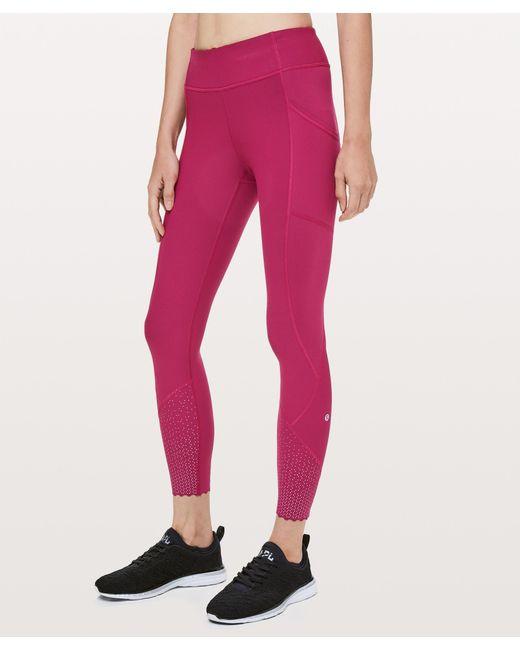 13c6055cf lululemon athletica - Pink Tight Stuff Tight Ii - Lyst ...