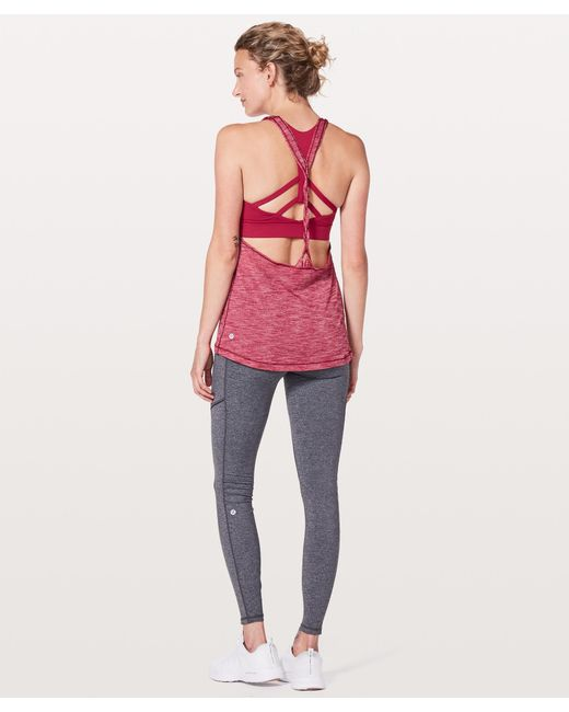 7f0282447b ... lululemon athletica - Red Twist   Toil Tank  medium Support For A C d  Cup ...