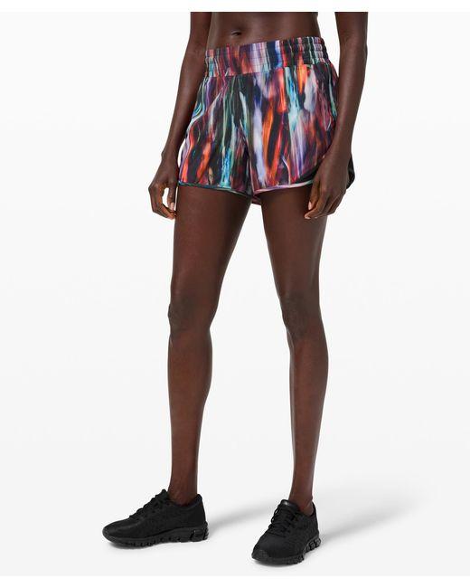 "lululemon athletica Multicolor Hotty Hot Short High-rise Online Only 4"""
