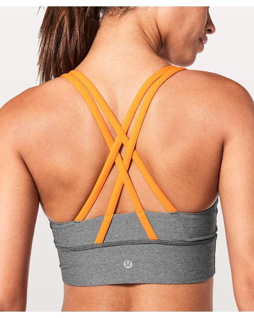 lululemon athletica - Multicolor Energy Bra Long Line - Lyst